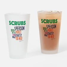 Scrubs Elliot Quote Drinking Glass