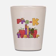 Pre-K Teacher Shot Glass
