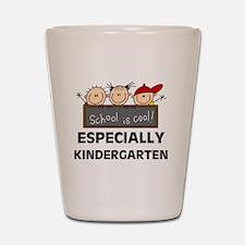 Kindergarten is Cool Shot Glass
