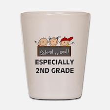 2nd Grade is Cool Shot Glass