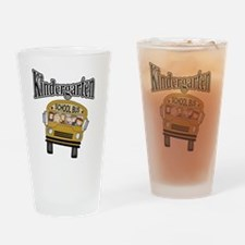 School Bus Kindergarten Pint Glass