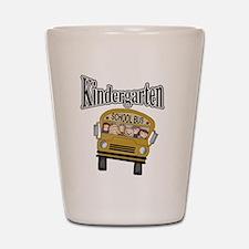 School Bus Kindergarten Shot Glass