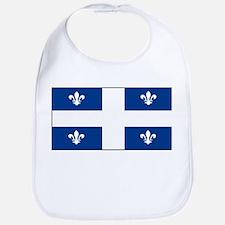 Quebec Quebecer Blank Flag Bib