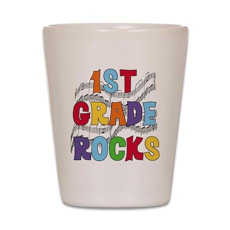 Bright Colors 1st Grade Shot Glass