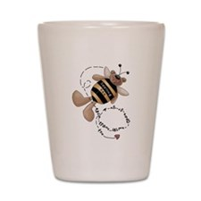 Spelling Bee Shot Glass