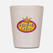 Scrapbook Queen Crown Shot Glass