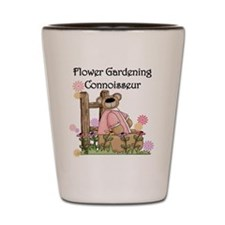 Flower Gardening Connoisseur Shot Glass