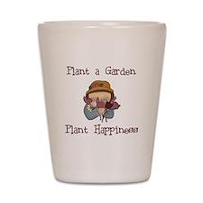 Plant Happiness Shot Glass
