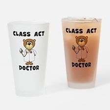 Class Act Doctor Pint Glass