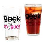 Geek Magnet Pint Glass