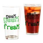 Geek FREAK Pint Glass