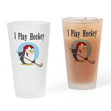 Penguin Hockey Pint Glass