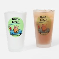Golf is Life Pint Glass