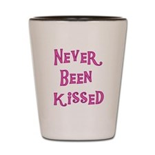 Never Been Kissed Shot Glass