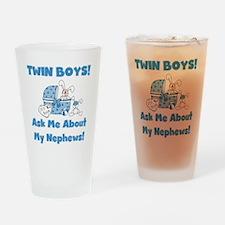 Aunt Twin Boys Pint Glass