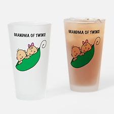 Grandma of Twins Pint Glass
