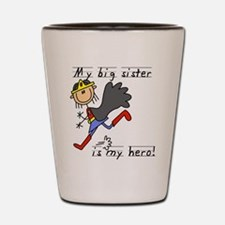 Big Sister My Hero Shot Glass