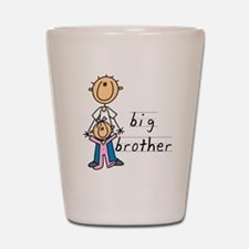 Big Brother With Little Sister Shot Glass
