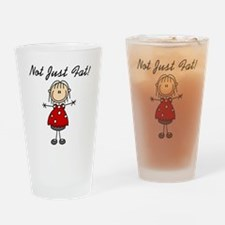 Not Just Fat Pint Glass