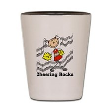 Cheering Rocks Shot Glass