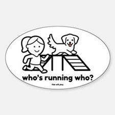 Agility Who's Running Who Decal