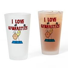 I Love Gymnastics Pint Glass