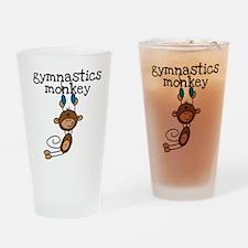 Gymnastics Monkey Pint Glass
