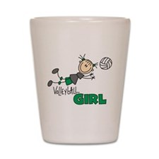 Volleyball Girl Shot Glass