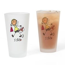 I Shop Pint Glass