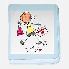 I Shop baby blanket