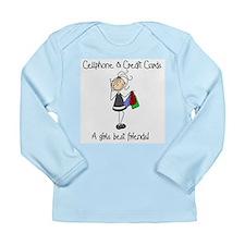 Girls Best Friends Long Sleeve Infant T-Shirt
