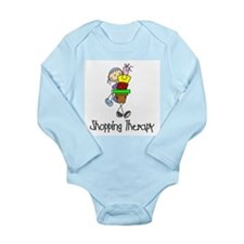 Shopping Therapy Long Sleeve Infant Bodysuit