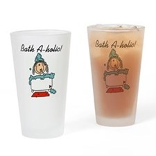 Bath-a-holic Pint Glass