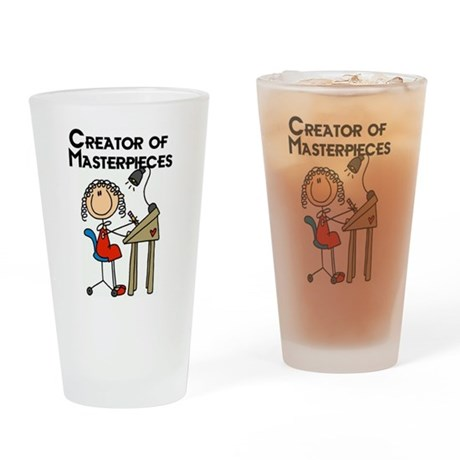 Creator of Masterpieces Drinking Glass