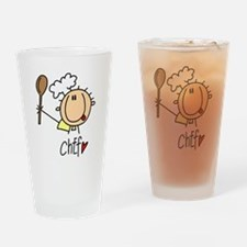 Male Chef Pint Glass