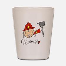 Firewoman Shot Glass