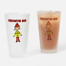 Firefighter Mom Pint Glass
