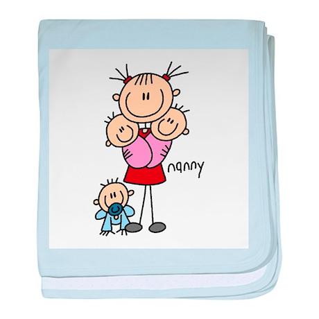 Nanny Profession baby blanket