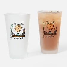 Professions Accountant Pint Glass