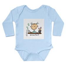 Professions Accountant Long Sleeve Infant Bodysuit