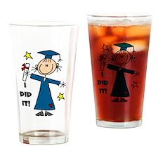 Girl Graduate Pint Glass