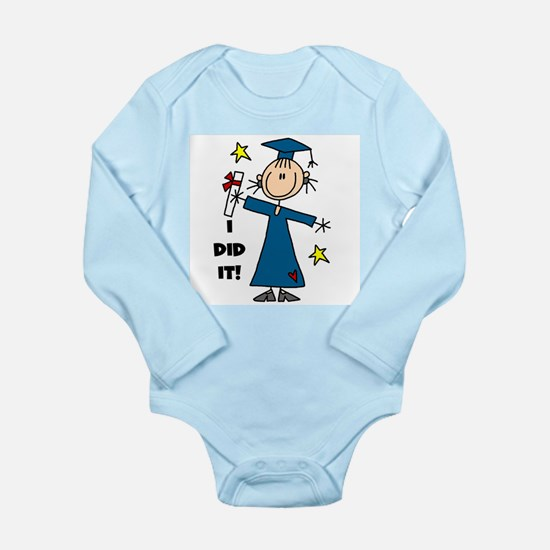Girl Graduate Long Sleeve Infant Bodysuit