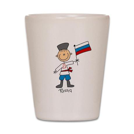 Russia Ethnic Shot Glass