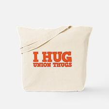 I Hug Union Thugs Tote Bag