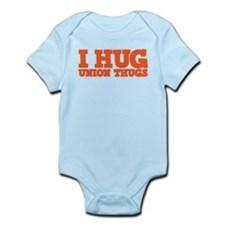 I Hug Union Thugs Onesie