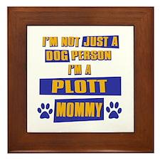 Plott Mommy Framed Tile