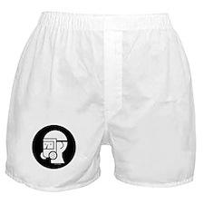 Gas Mask W/Shield Boxer Shorts
