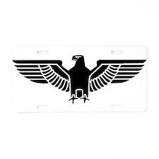 German Pride Aluminum License Plate