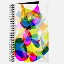 Abstract Cat Journal