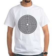 Medieval Labyrinth Symbol Shirt